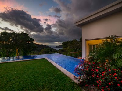 Photo for Villa Mare- Chic 4bdrm home, private pool. exclusive locale. AC/WIFI ocean views