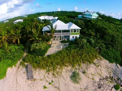 Photo for Luxury escape in a rugged setting, on the beach w/ an enchanting ocean view!