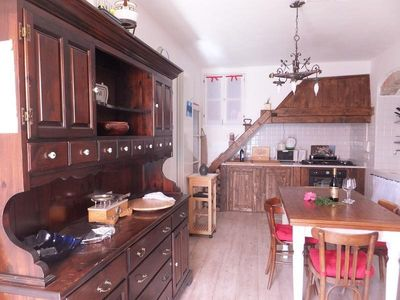 Photo for Holiday apartment Castiglione Chiavarese for 2 - 3 persons - Holiday apartment in a villa