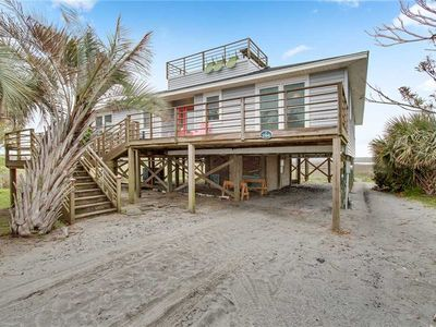 Photo for Fifi's Fabulous Folly | Magnificent Ocean & Marsh Views | Rooftop Deck | Walk to Washout
