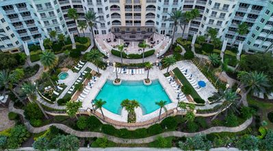 Photo for 2 BR 478 Intracoastal View Condo- Private Beach- Water Park- Award Winning Golf