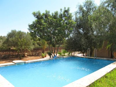 Photo for Vacation home Es Tres Pins  in Campos, Majorca / Mallorca - 6 persons, 3 bedrooms