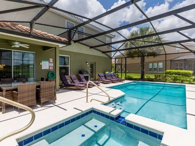 Photo for Solterra Sunrise   Superior Furnishings w/ Private Pool and Games Room less than 10 miles to Disney