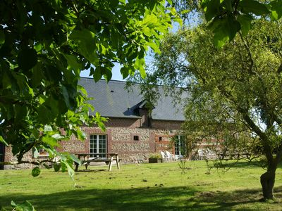 Photo for Charming Normandy cottage Chestnut trees 15 km from Etretat in Haute Normandi