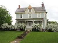 Historic home with all the charm and grandeur of the 1800's. Our family loved staying here