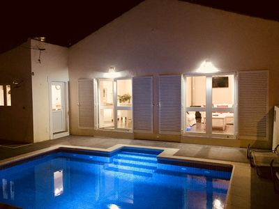 Photo for Casa Palmeira is a recently renovated 3 bedroom village  cottage with pool