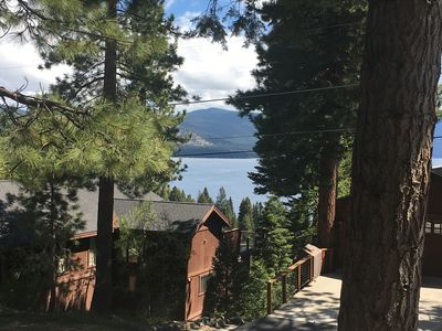 Photo for HOT TUB with LAKE VIEWS! Real Fireplace and Minutes from Resorts!