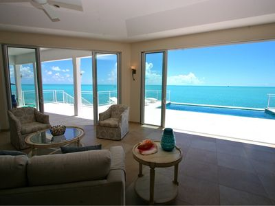 Photo for Stunning Panoramic View - Oceanfront Villa - Calming Charm