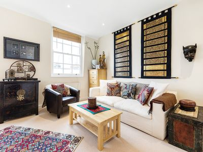 Photo for Bright & Arty 1BR Home in Pimlico, close to the Thames & the Tate, by Veeve