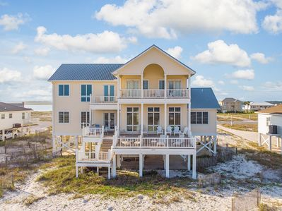 Exterior - Welcome to Gulf Shores! This beachfront house is professionally managed by TurnKey Vacation Rentals.