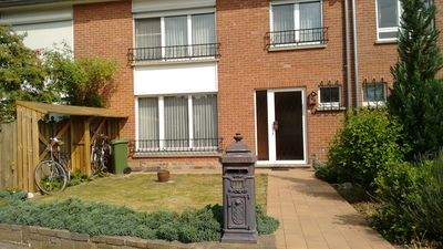 5 sleeps, 3 bedrooms, 2 km from the center of Leuven, 25 km from Brussels
