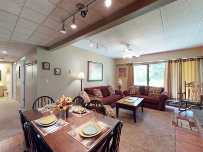 Photo for NEW LISTING! Resort condo with shared pools, hot tub, fitness center, and more!