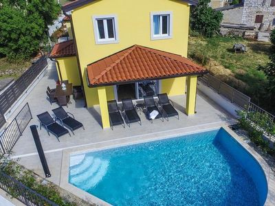 Photo for Modern holiday home with poos for 8 persons in Mugeba near Porec