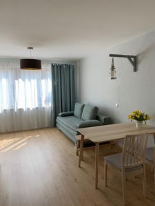 Photo for Centrally located apartment with terrace and underfloor heating near Lake Chiemsee
