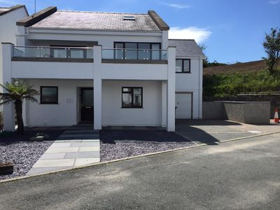 Photo for Abersoch Holiday home with Beach Hut - walking distance to village and beach