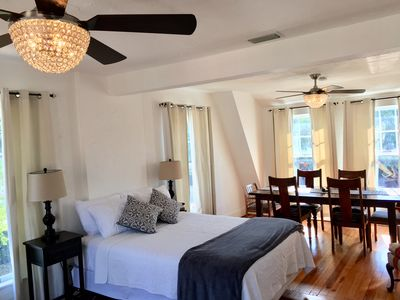 Photo for Otto Ringling Suite - Large, 1 BR, 1 private bath in great and historic location