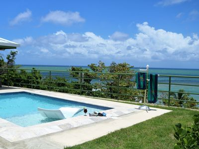 """Photo for VILLA """"DON PEPIN"""" OCEAN FRONT VILLA WITH OUTDOOR POOL!"""