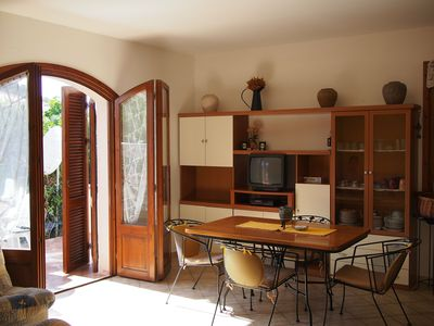 Photo for Mediterranean, fully equipped apartment with two terraces