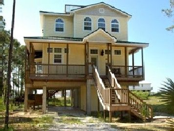 St  George Island Rental Home - A Pirate Looks at 40 - East End