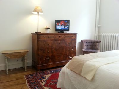 Photo for Beautiful brand new studio quiet area close to the Eiffel Tower