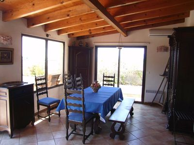 Photo for Spacious 2 bedroom in quiet private residence owner Propriano Corsica