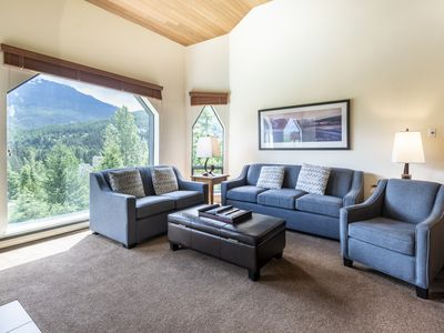 Photo for Quiet Location with Mountain Views just Minutes from the Village - Mountain View Condo at Ironwood w/Pool & Hot Tub (Unit 309)