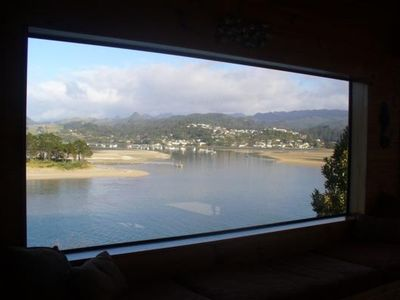 Photo for Large beach house with stunning 180 degree views