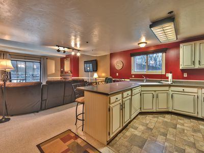 Photo for Condo that Sleeps 6 with Amenities-Steps to Park City Mountain Resort!
