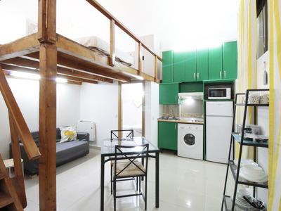 Photo for Comfortable Duplex close to the metro station Bilbao (SAGBIN)
