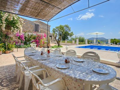 Photo for Spacious villa with private pool, situated in the beautiful village of Selva