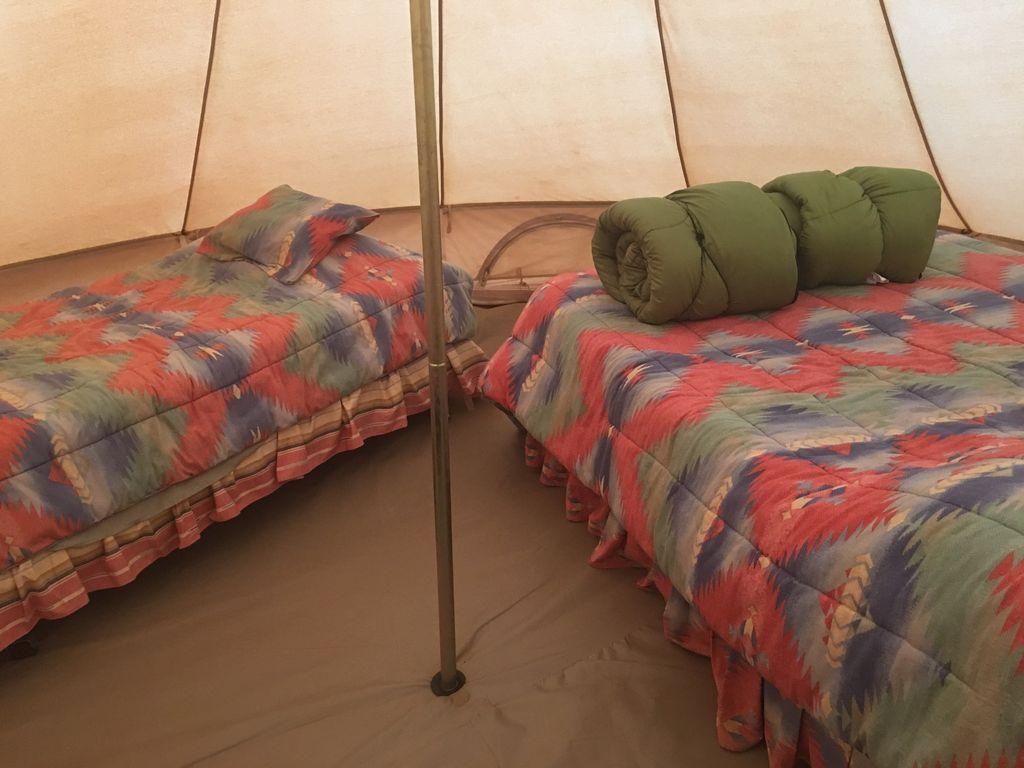 & Turtle Butte Canvas Tent with Beds - VRBO