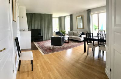 Photo for Nice apartment close to Drottningholm Castle, up to 7 guests