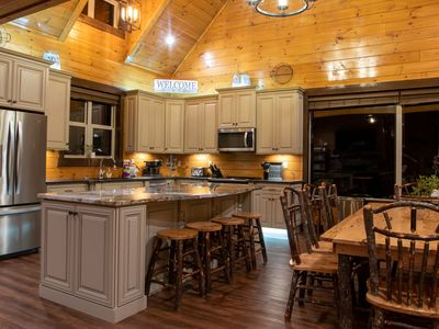 Photo for 4 Master Suite Luxury Cabin w/Hottub, GameRoom & walking distance to POOL!
