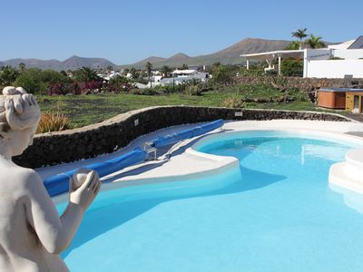 Photo for Detached Villa with Stunning Mountain and Sea Views, Large Pool & sunken Hot Tub