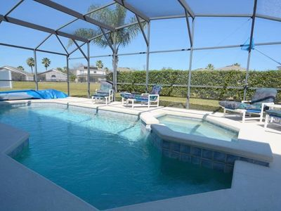 Photo for 4 Bed Orlando Vacation Home w/ Games Room, Outdoor Spa & Bunk Beds!
