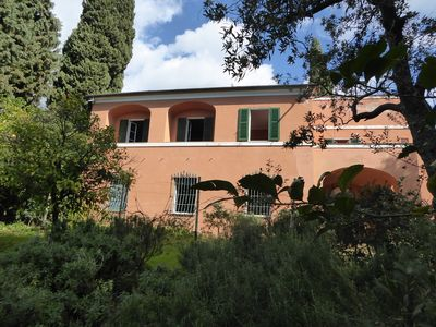 Photo for Typical Liguria house with garden