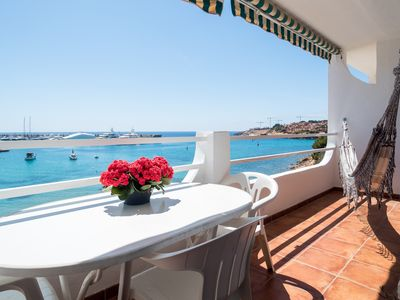 Photo for Sea view Apartment terrace @Port Adriano