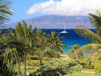 Photo for Magnificent!  Maui Oceanfront  3BR/3BA*  WRAP AROUND LANAI AND  OUT DOOR KITCHEN