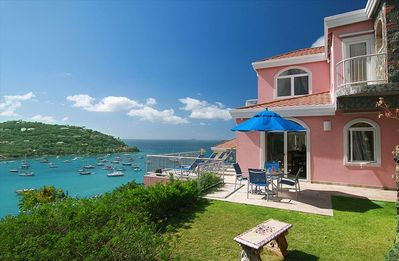Photo for Pink Conch - 2 Bedroom Luxury Villa, Great Cruz Bay, St. John