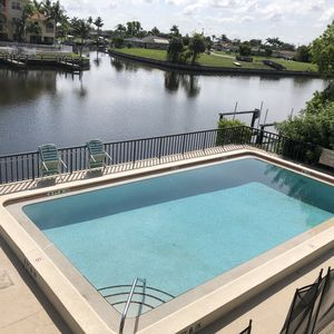 Photo for Waterfront Condo with Boat Dock and Heated Pool