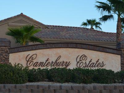 Photo for Canterbury Estates, Private Gated Community, Lake Havasu City,AZ