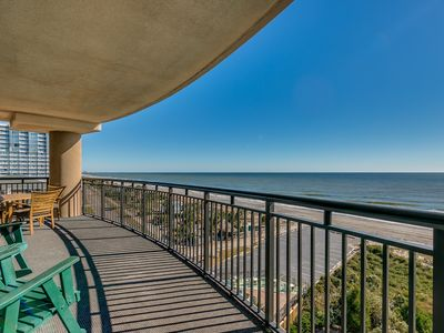Photo for Large Oceanfront 4 bdrm Corner Unit (7th Floor) - by Luxury Beach Rentals
