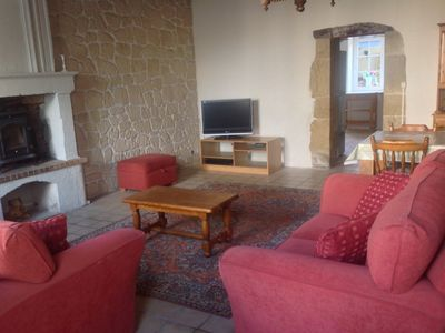 Photo for Two bedroom gite in the heart of Mervent forest