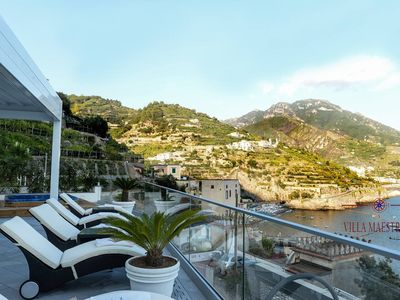 Photo for VILLA WITH BREATHTAKING VIEW, W / T JACUZZI AND FREE PARKING. RENT BY OWNER
