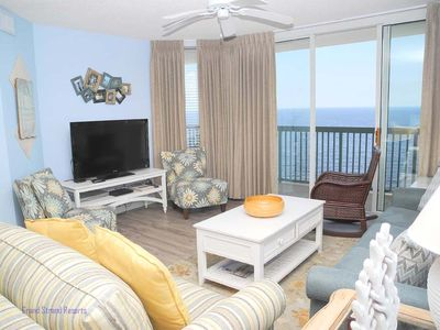 Photo for Ashworth Unit 1506! Stunning Ocean Front Condo! Book your get away today!