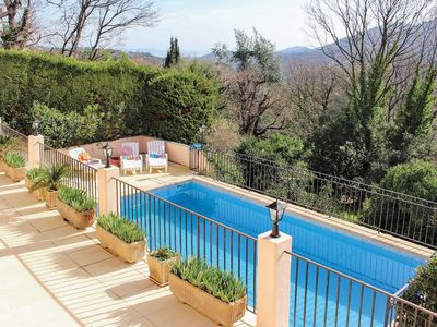 Photo for 3 bedroom Villa, sleeps 6 in Le Planestel with Pool and WiFi