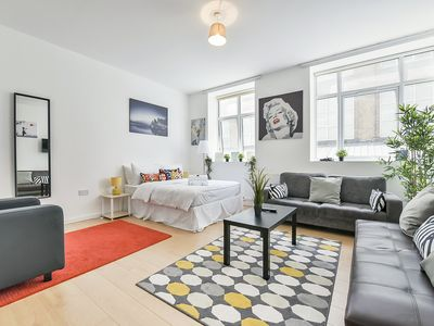 Photo for Wonderful Studio Flat In Camden Town-For 3 People