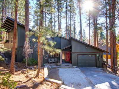 Photo for Walkable To Heavenly! Beautifully, Upgraded Chalet, Backing To Forest! Hot Tub!