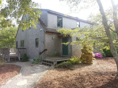 Photo for Quiet,secluded,prime location near Gull Pond,bordering National Seashore.