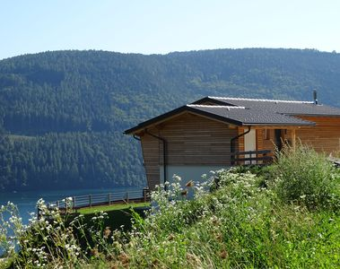 Photo for Luxury living in superb lake and mountain location, perfect in summer or winter